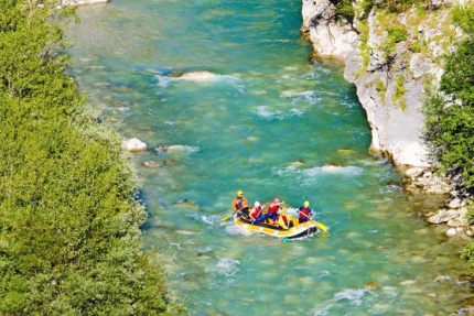 Rafting au Gorges Verdon