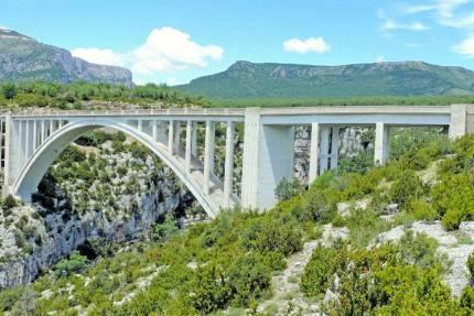 Le pont de l'Artuby © MOSSOT