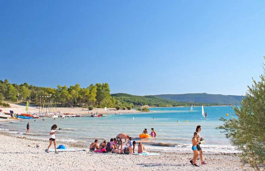 Camping gorges du verdon avec piscine location verdon for Camping lac bourget avec piscine